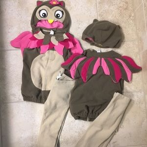1 Old Navy Girls Lil Owl Costume sz 18-24mos